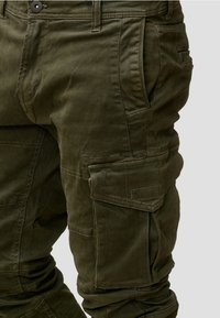 INDICODE JEANS - ALEX - Cargo trousers - dark green - 4