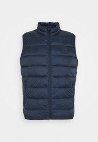 JJEMAGIC - Waistcoat - navy blazer