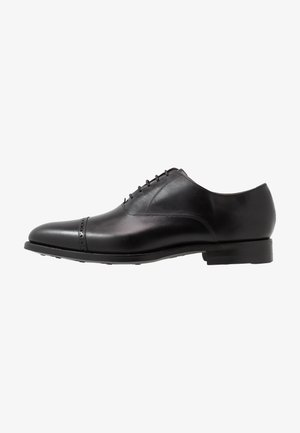 BURFORD - Stringate eleganti - black