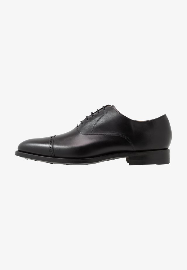 BURFORD - Derbies & Richelieus - black