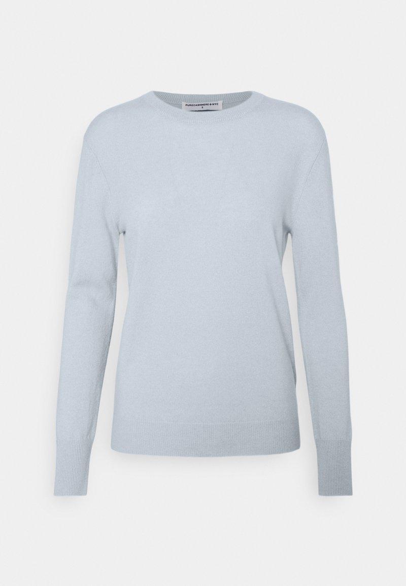 pure cashmere - CLASSIC CREW NECK  - Jumper - baby blue