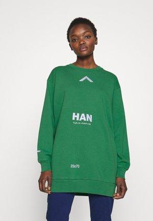 RELAXED CREW - Sweatshirt - green
