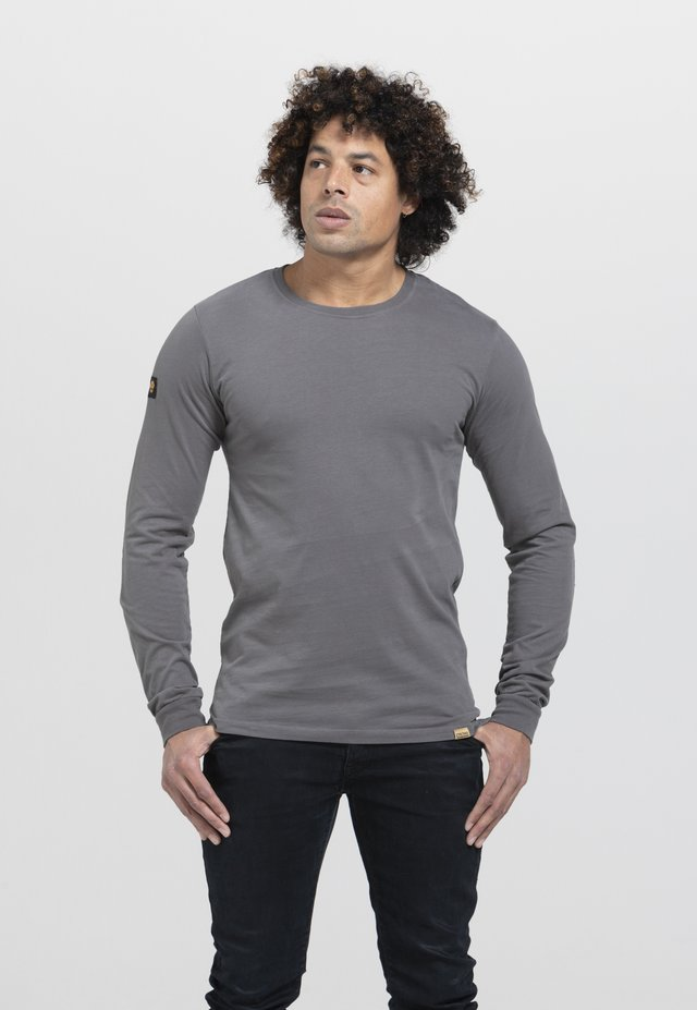 LIMITED TO 360 PIECES - Long sleeved top - dark grey