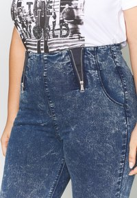 Simply Be - SHAPER JEGGING - Jeans Skinny Fit - blue acid - 5