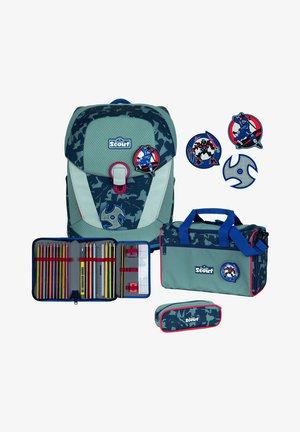 SUNNY II SET - School bag - blue ninja