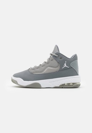 MAX AURA 2 UNISEX - Basketbalové boty - medium grey/white/cool grey