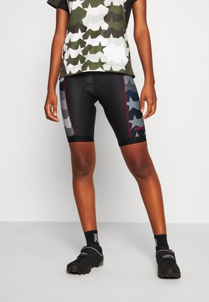 MISZA EVO LINER - Leggings - pirate black/gun metal