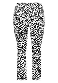 Samoon - Trousers - black gemustert - 5