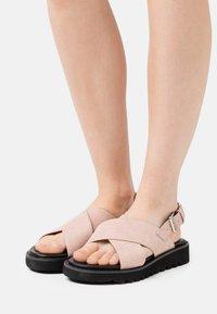 Even&Odd - Sandály na platformě - light pink - 0