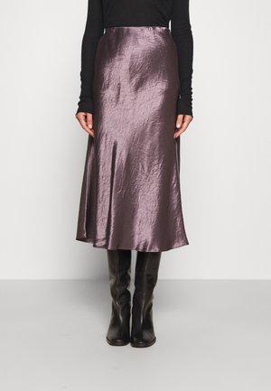 ALESSIO - A-line skirt - malva