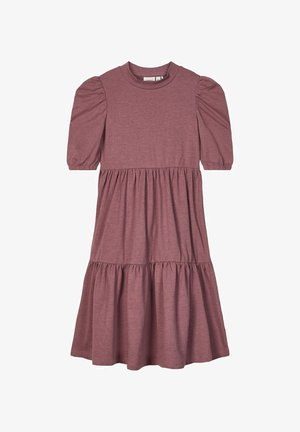 Day dress - rose taupe