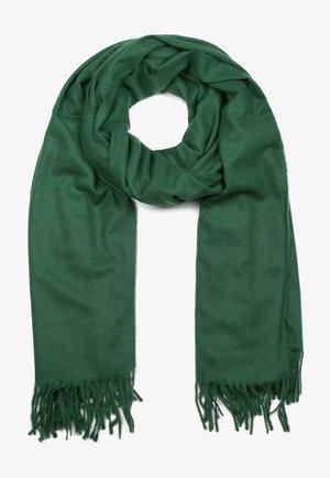 UNIQUE WINTER STOLE - Scarf - dunkelgrün