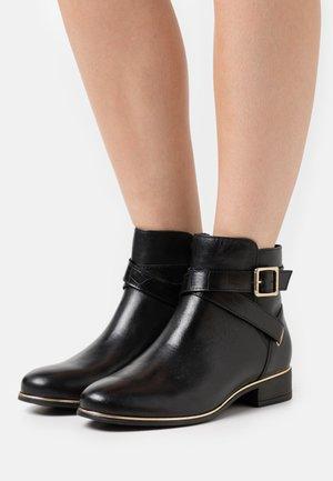 ELLE - Classic ankle boots - black