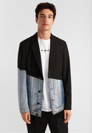 AME AARON - Blazer jacket - black