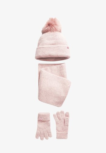 3 PACK - Scarf - pink