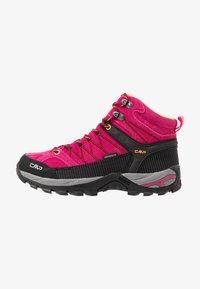 CMP - RIGEL MID TREKKING SHOE WP - Hiking shoes - bouganville/goji - 0