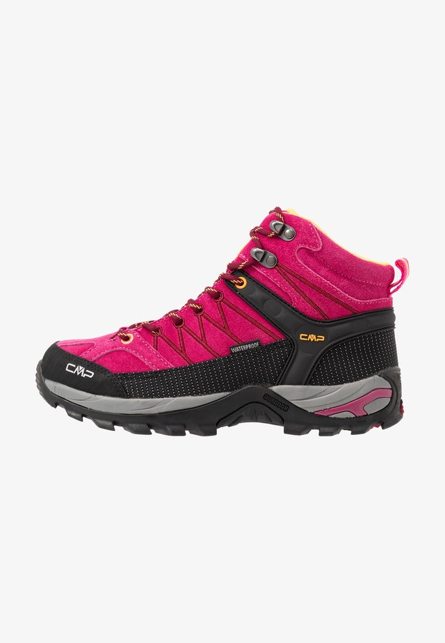 RIGEL MID TREKKING SHOE WP - Outdoorschoenen - bouganville/goji