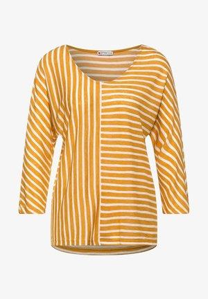Long sleeved top - sulphur yellow