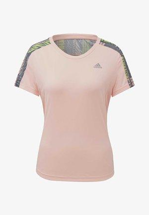 OWN THE RUN URBAN T-SHIRT - T-shirt print - pink