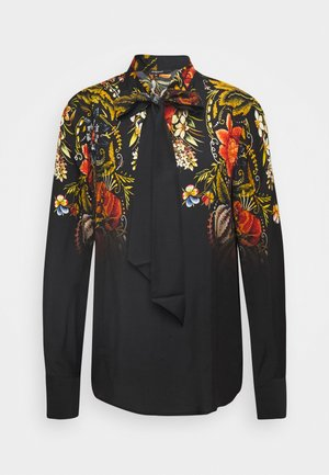 BLUS LAUREN DESIGNED BY MR CHRISTIAN LACROIX - Bluzka - black