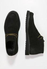 NOIRE LINE - JACK - Volnočasové šněrovací boty - black - 1