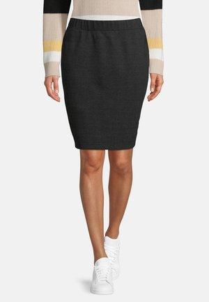 Pencil skirt - grau/schwarz