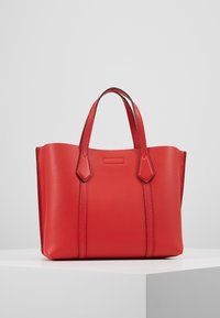 Tory Burch - PERRY SMALL TRIPLE COMPARTMENT TOTE - Borsa a mano - brilliant red - 2