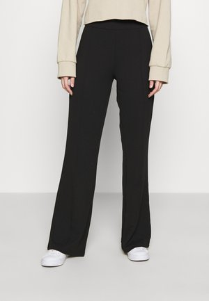 YASVICTORIA PINTUCK PANT - Trousers - black
