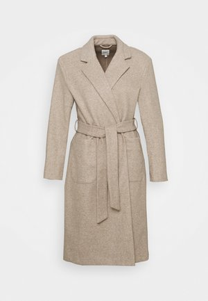 ONLTRILLION LONG BELT COATIGAN  - Classic coat - humus
