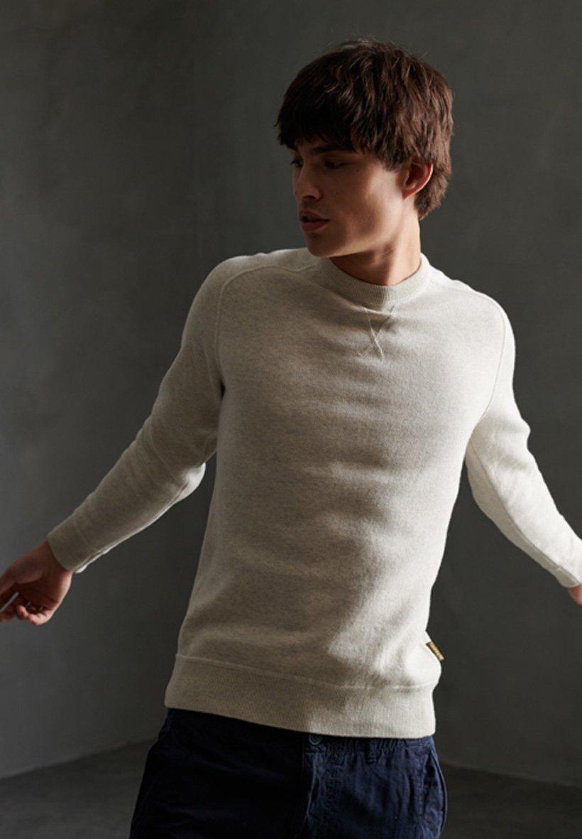 Men ESSENTIAL COTTON CREW SWEATSHIRT - Sweatshirt
