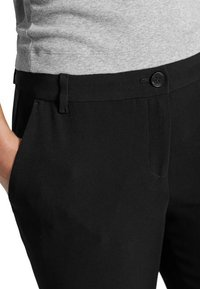 Marc Cain - CLASSIC - Trousers - black - 0