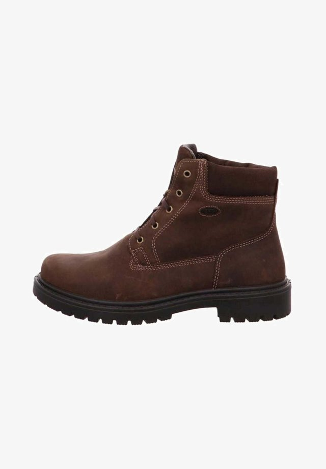 Lace-up boots - braun