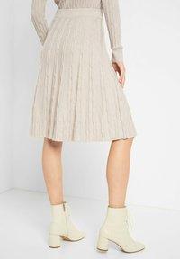 ORSAY - A-line skirt - sandstein - 2