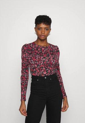 ONLPELLA PUFF  - Langærmede T-shirts - pink lemonade