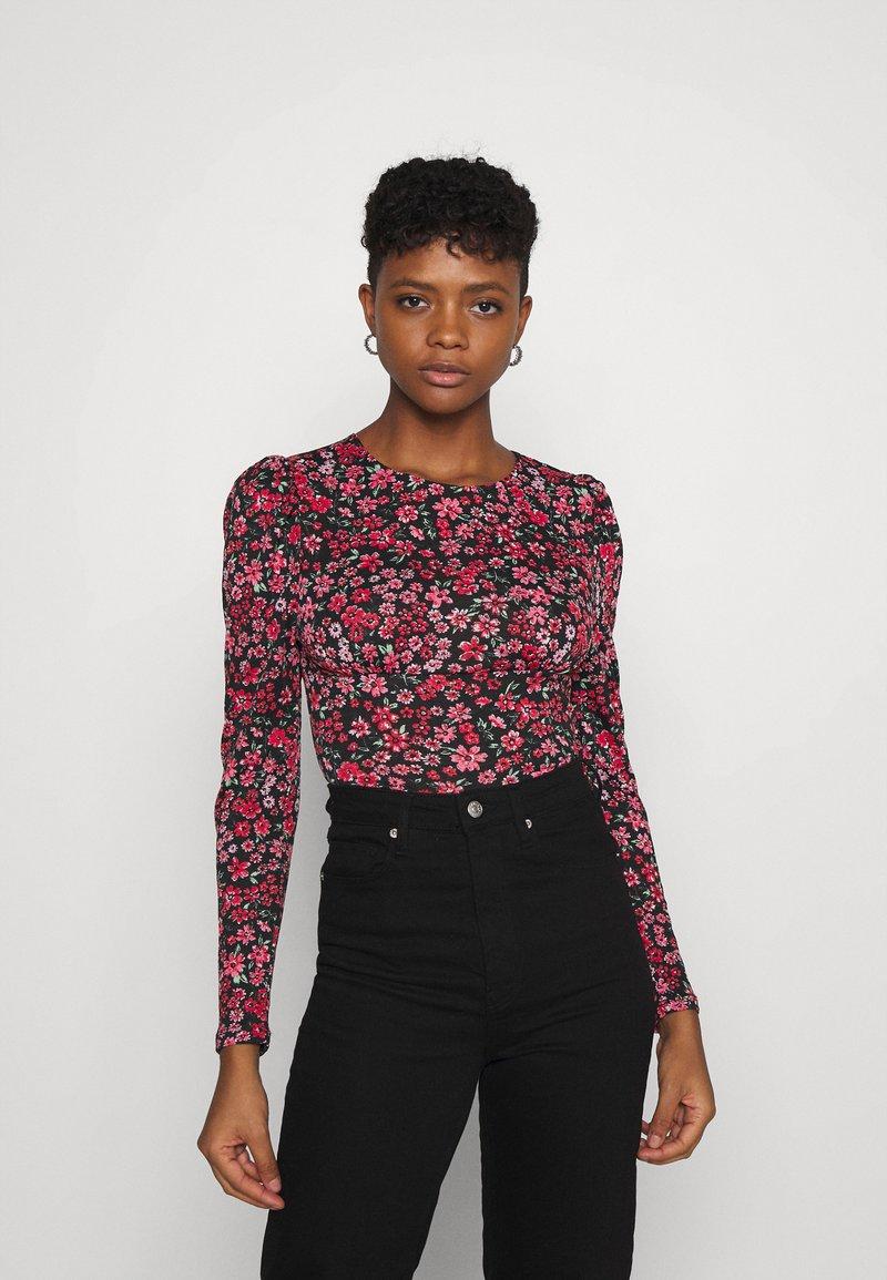 ONLY - ONLPELLA PUFF  - Long sleeved top - pink lemonade