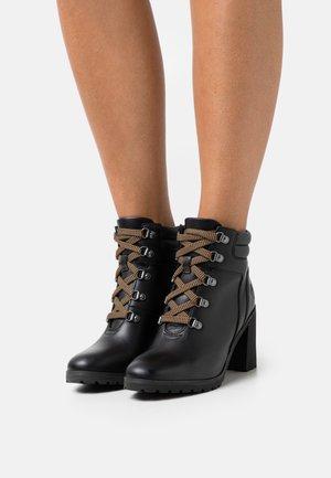ALLINGTON HIKER BOOT - Lace-up ankle boots - black