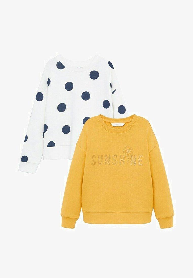 Mango - 2-pack - Sweatshirt - moutarde