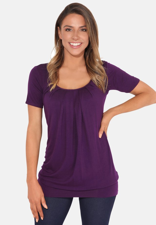 T-shirts basic - purple