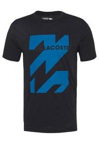 Lacoste Sport - GRAPHIC - Sports shirt - noir/enluminure - 4