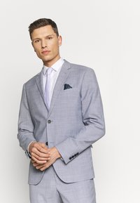 Lindbergh - CHECKED SUIT - Completo - lt grey check - 2
