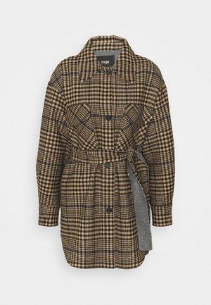 GAVINO - Classic coat - camel