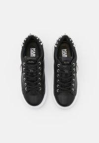 KARL LAGERFELD - KAPRI IKONIC STUD TAB - Sneaker low - black - 4