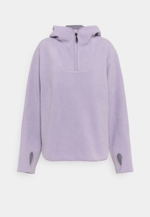 Fleece jumper - lilac purple dusty light