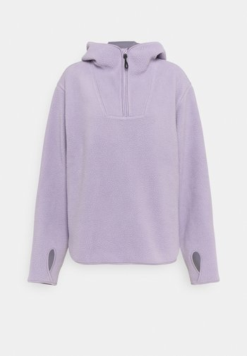 Sweat polaire - lilac purple dusty light