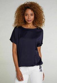 Oui - Basic T-shirt - nightsky - 0