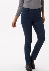 BRAX - STYLE PAMINA - Jeans slim fit - stoned - 0