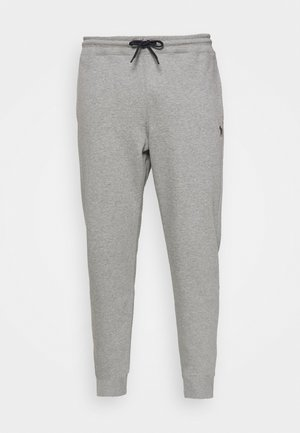 REG FIT JOGGER - Tracksuit bottoms - mottled grey