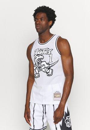 NBA TRACY MCGRADY WHITE BLACK SWINGMAN - Club wear - white