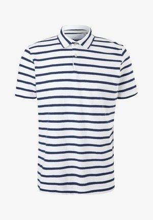 Polo - white stripes