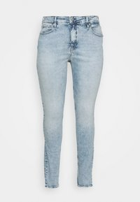 Calvin Klein Jeans Plus - HIGH RISE - Jeans Skinny Fit - dark-blue denim - 4